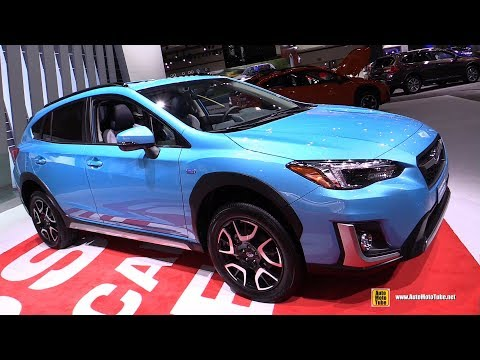 Subaru Crosstrek Plug In Hybrid - Exterior and Interior Walkaround - Debut at  LA Auto Show