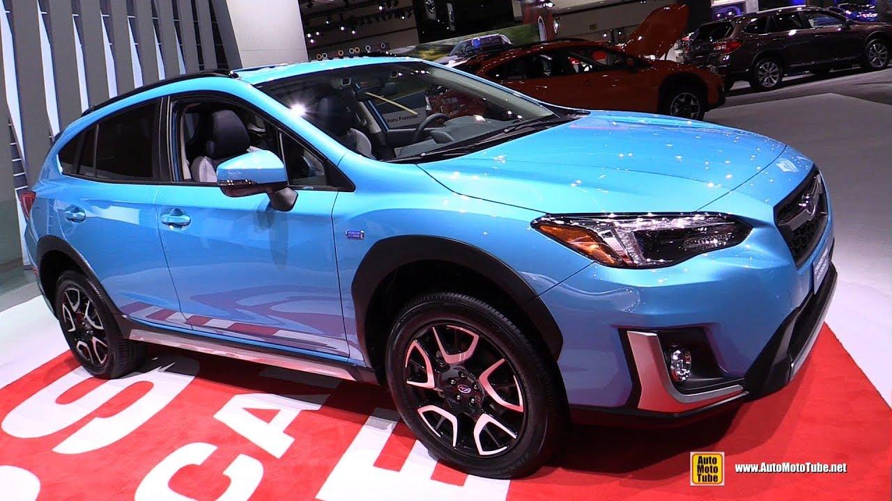 2019 subaru crosstrek plug in hybrid exterior and - Subaru crosstrek interior lighting ...