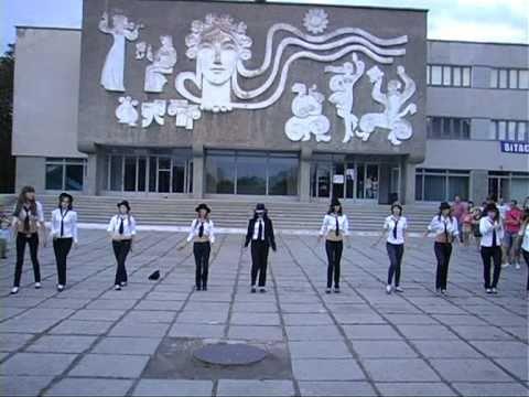 Флешмоб в Александрии  в честь Майкла Джексона. часть 4