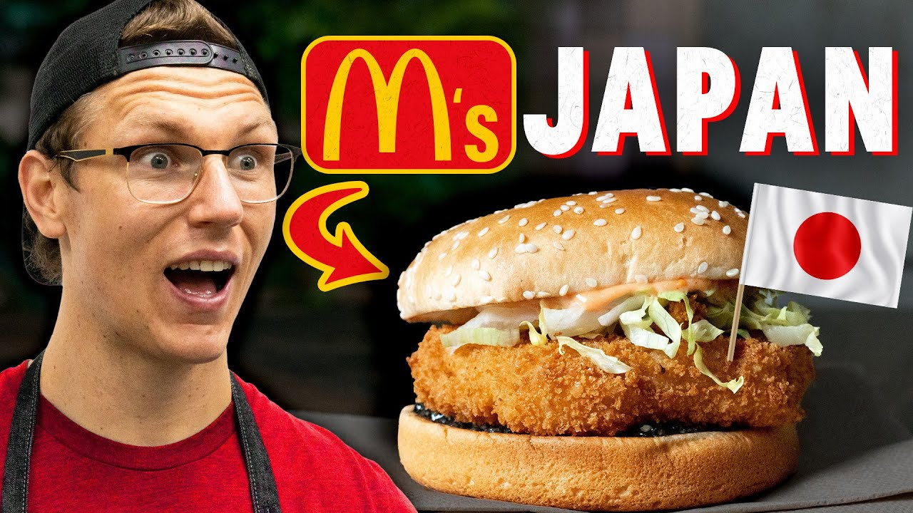 Recreating McDonald's Japan Sandwich (International Fast Food)