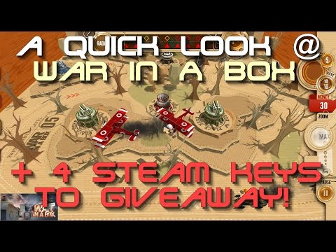 ➜ A Quick Look @ 'War in a Box: Paper Tanks' + 4 Steam Keys to Giveaway! (ENDED)