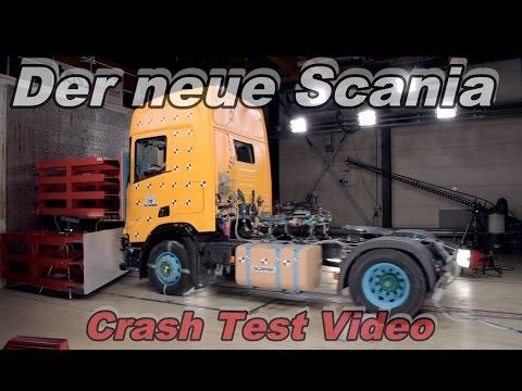 Der neue Scania im Detail! Mit Crash Test Video