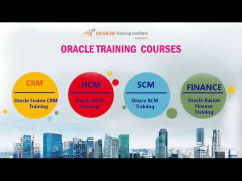 Oracle fusion financials  online  training-Rainbow Training Institute