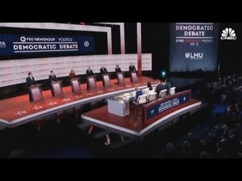 Top moments from the last Democratic debate of 2019