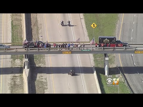 Medal Of Honor Motorcade Winds Through The Metroplex