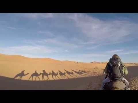 Sahara Desert Tour in the Erg Chebbi Dunes in Morocco