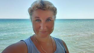 Отпуск в Крыму, Уехали в Алушту, Попали в Грозу, на Пляже Никого Цены в Ресторане на Набережной!