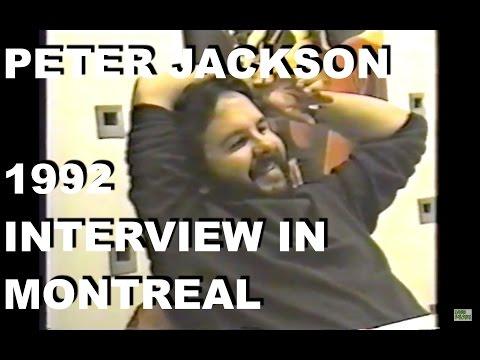 Karim Hussain Interviews Peter Jackson in 1992 At Cinema Fantastique in Montreal
