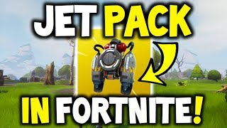 *NEW* Fortnite JET PACK IS COMING! + GAMEPLAY on (Hover board)! Fortnite Battle Royale