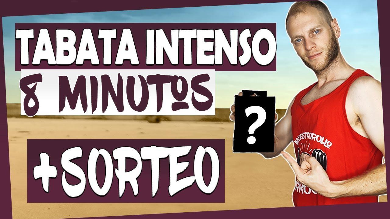 ▶ RUTINA HIIT TABATA 8 MINUTOS *INTENSOS* + ¡SORTEO! ◀ [ANRHIIT]