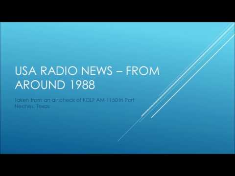 USA RADIO NEWS FROM 1988