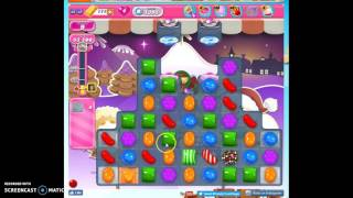 Candy Crush Level 1395 help w/audio tips, hints, tricks