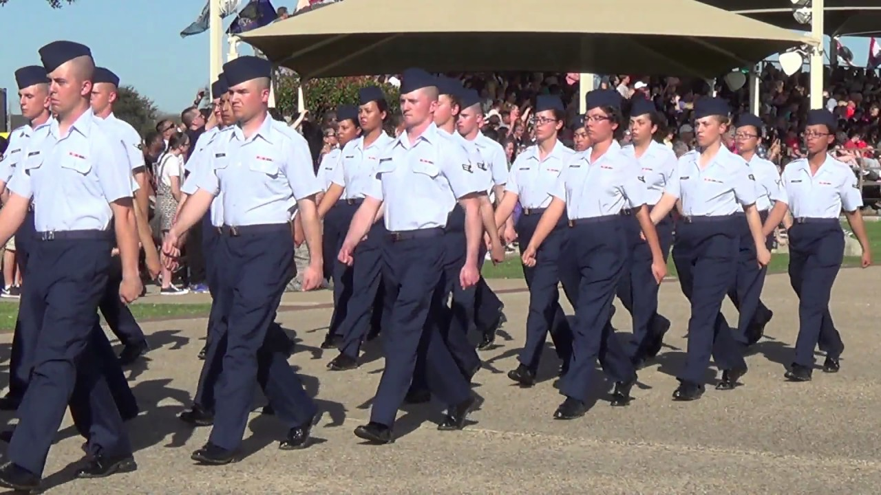 Airforce Bmt Graduation 24 February 2017 Youtube