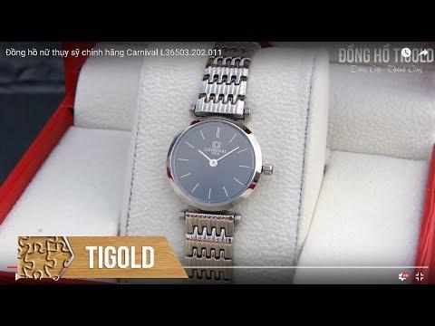 Đồng hồ nữ thời trang chính hãng Carnival L36503.202.011