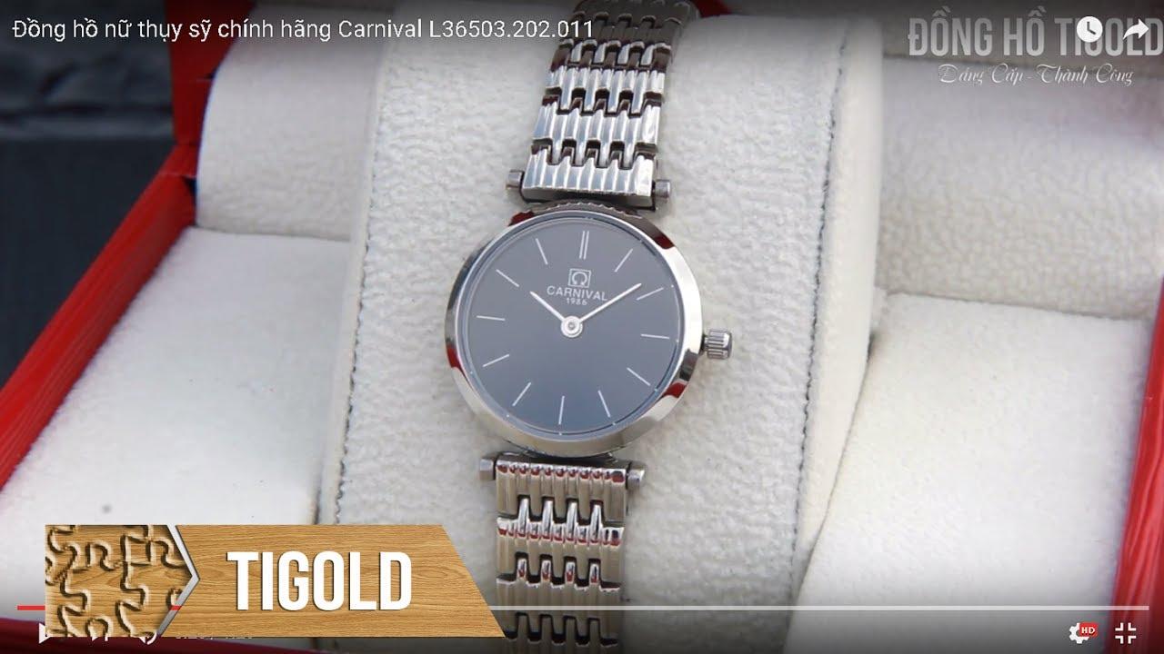 Đồng hồ nữ thời trang chính hãng Carnival L36503.202.011   Tổng hợp các tài liệu liên quan đồng hồ nữ thời trang 2017 mới cập nhật
