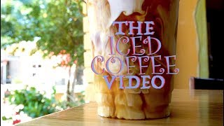 The Iced Coffee Video (a musical short film)