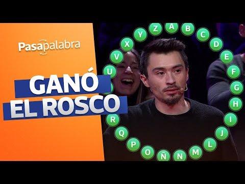 ROSCO GANADOR | Nicolás Gavilán Se Llevó 396 Millones En Pasapalabra