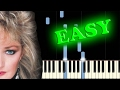 BONNIE TYLER TOTAL ECLIPSE OF THE HEART Easy Piano Tutorial mp3