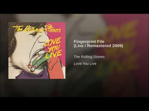 Fingerprint File (Live / Remastered 2009)