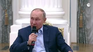 Путин про тех, кто подталкивает детей к суициду