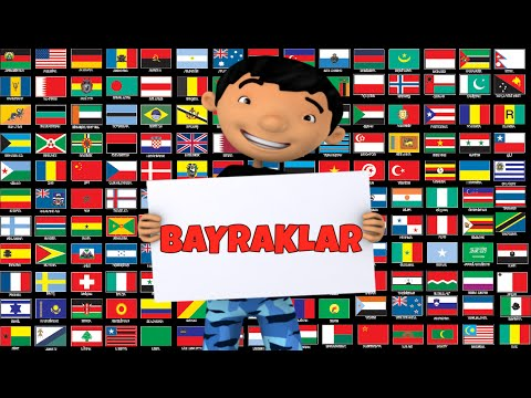 Dunya Bayraklari Ulke Bayraklari Country Flags Youtube