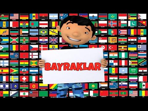 Dünya Bayrakları ülke Bayrakları Country Flags Youtube