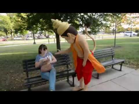 Hanuman in Washington DC by ISKCON of DC, Potomac, Maryland, USA | Jai Shri Hanuman