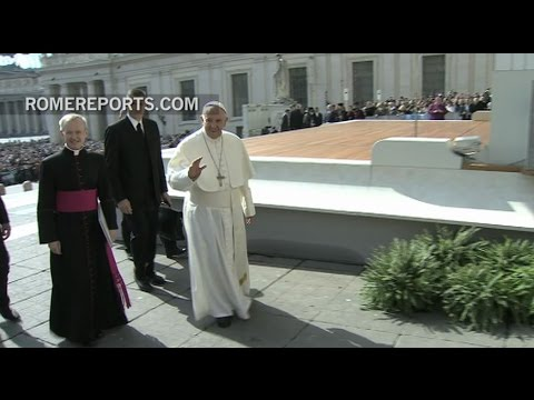 Pope Francis: I will entrust the destiny of humanity to the Virgin in Fatima