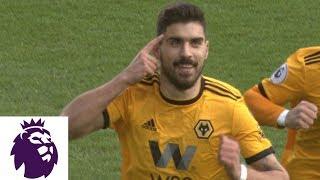 Ruben Neves' PK puts Wolves up 1-0 against Everton | Premier League | NBC Sports
