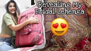 #Superशादी - 😍Finally Revealing My Bridal Lehenga   Super Style Tips #72Hourwithpentavitin
