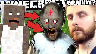 JUCAM GRANNY 1.7 IN MINECRAFT CU IRAPHAHELL !