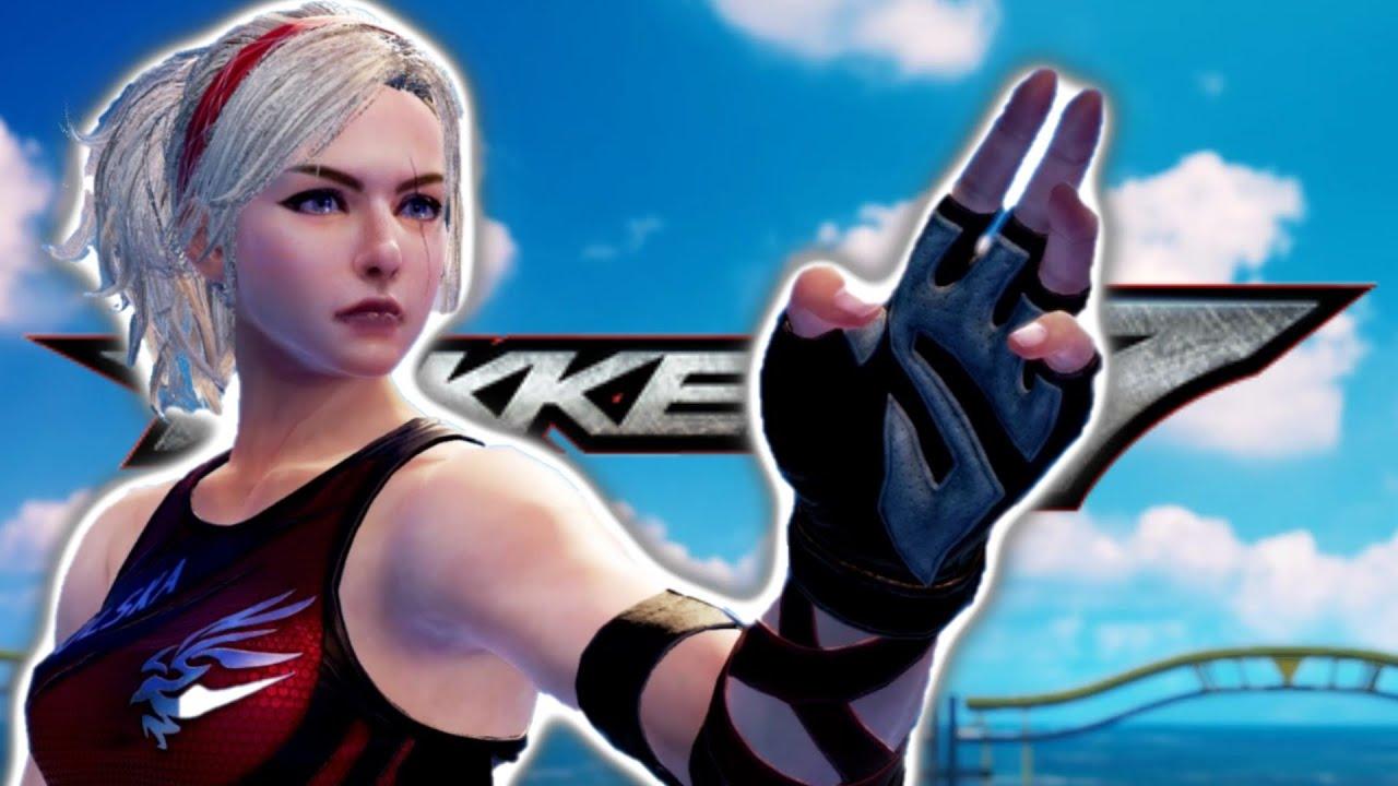 Tekken7 Lidia Sobieska Arcade Playthrough | Tekken 7 Season 4 Arcade Playthrough