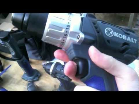 Kobalt 4-Tool 18-Volt Lithium-ion Cordless Combo Kit Review