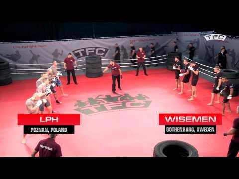 Fight 1 of the TFC Event 1 LPH Poznan, Poland vs Wisemen Gothenburg, Sweden