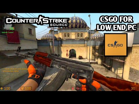 COUNTER STRIKE SOURCE OFFENSIVE (CSGO FOR LOW END PC) CSS MOD GAMEPLAY