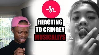 REACTING TO CRINGEY MUSICALLYS