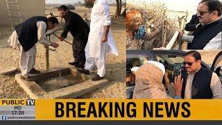 CM Punjab Usman Buzdar visits Cholistan without protocol, driv…