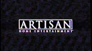 Artisan Home Entertainment (2002) Company Logo (VHS Capture)