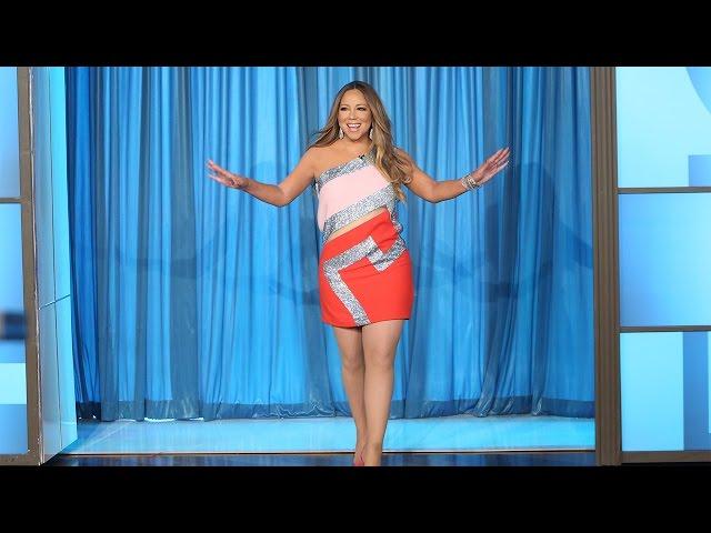 Surprise! It's Mariah Carey!
