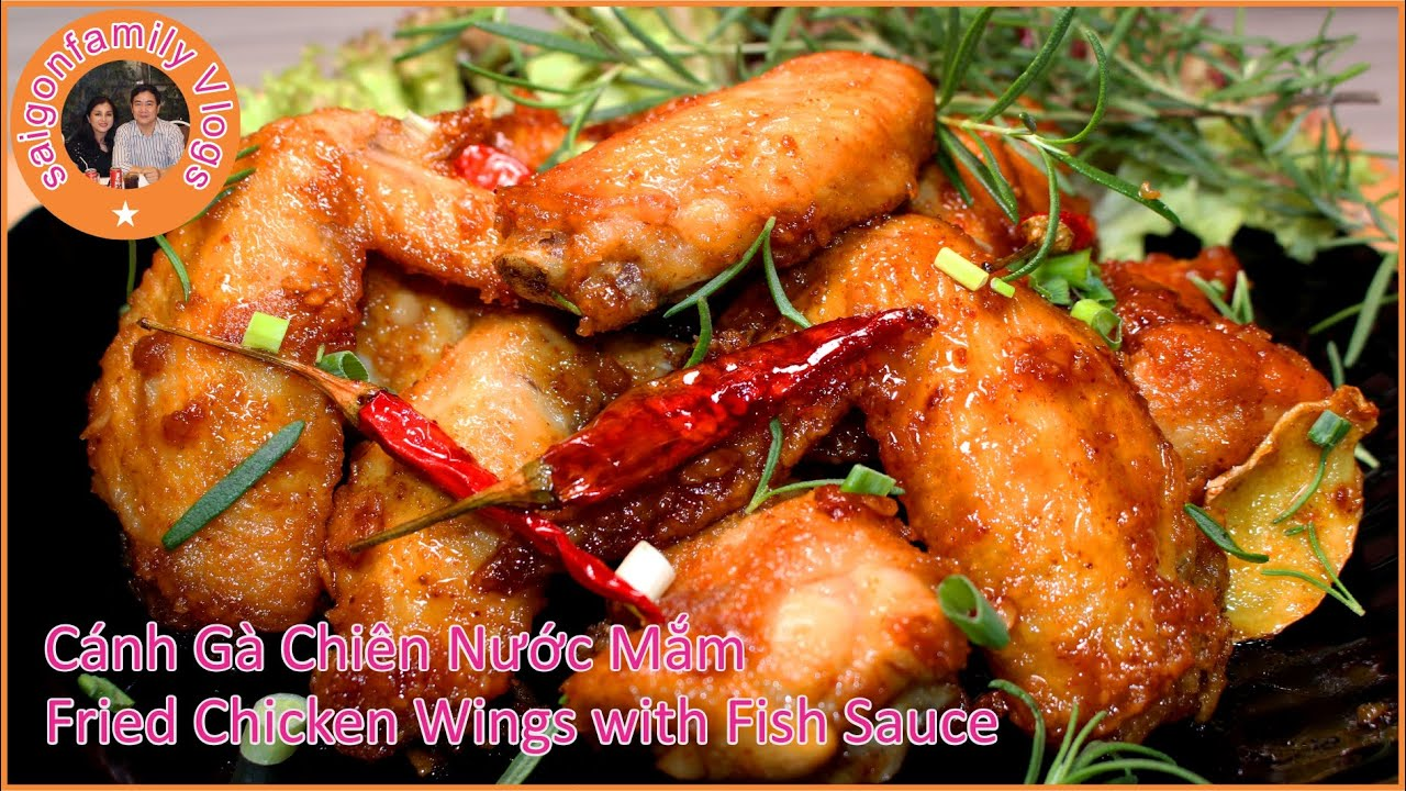 Cánh Gà Chiên Nước Mắm | Cách Làm Gà Chiên Nước Mắm Thơm Ngon | Fried Chicken Wings with Fish Sauce