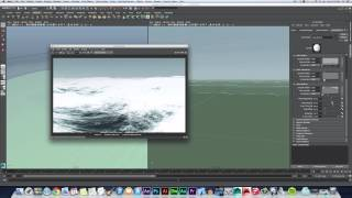 Crafting the Wave: How to Render an Ocean in Maya