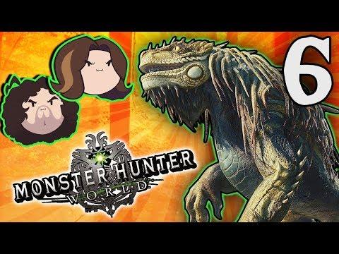 Monster Hunter World: We've Got a Team! - PART 6 - Game Grumps