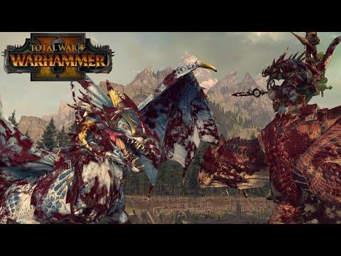 Kroq-Gar VS Imrik DragonLord | The Warden & The Paunch | Total War: Warhammer 2 |