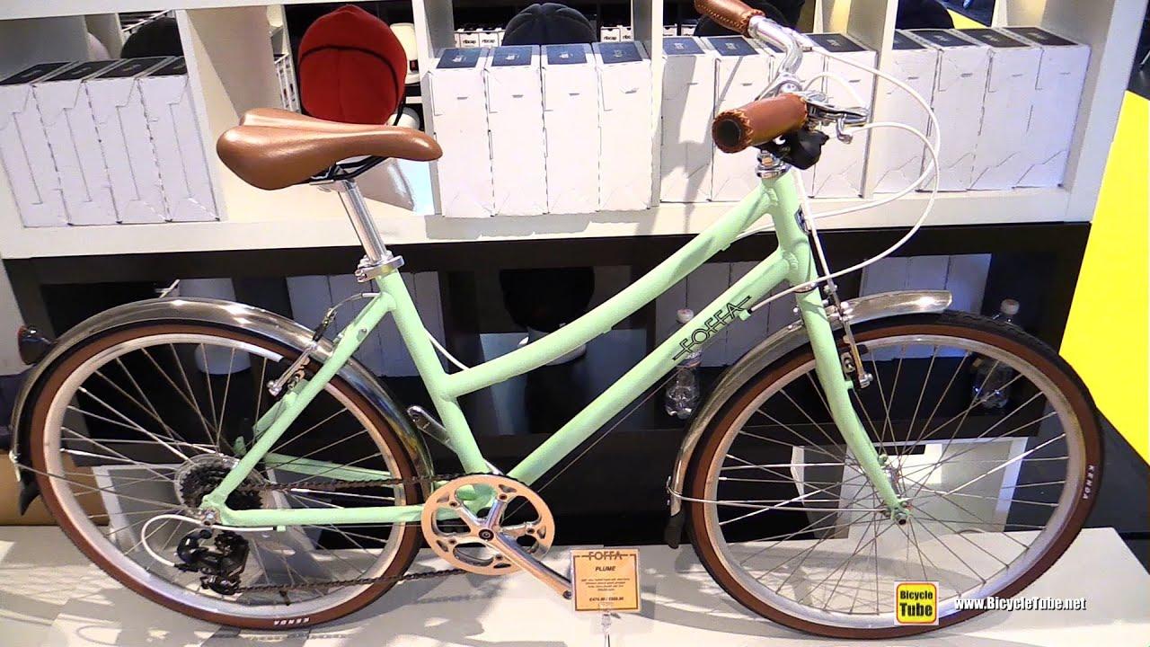 2016 Foffa Plume Bicycle Walkaround 2015 Eurobike Youtube