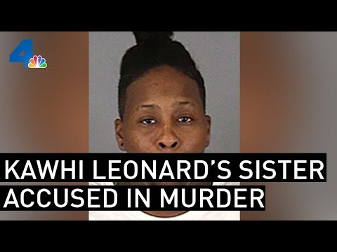 Report: Kawhi Leonard's Sister Charged in Robbery, Murder of 84-Year-Old Woman