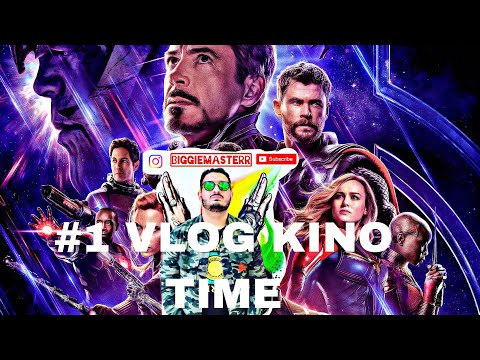 VLOGDAY #1 - BIGGIEMASTER & JUNYTHEGAME  2019 KINOTIME AVENGERS ENDGAME