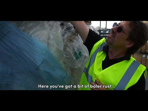 Inspecting Plastic Film For Recycling | Vanden Recycling