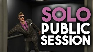 Make a SOLO PUBLIC SESSION in GTA Online | CEO & Biker Sell Missions (PS4/XBOX) December 2016