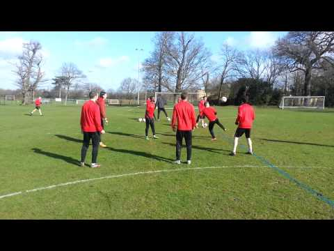 SKILLS: Orient Two-touch keepy-ups
