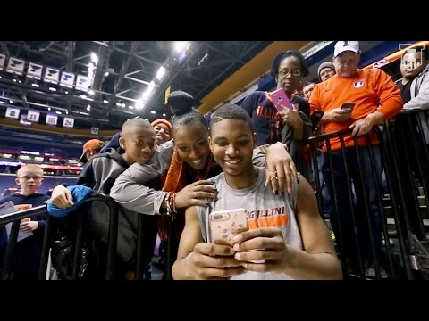 Illini Basketball All-Access | Hill Sweeps Mizzou